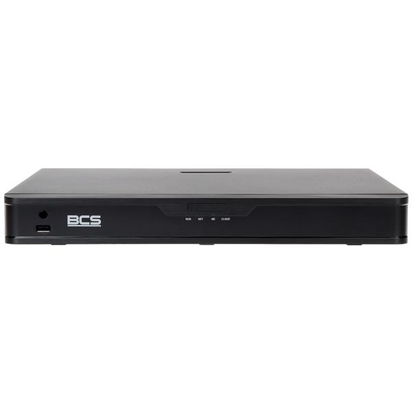 REGISTRATOR IP BCS-P-NVR0902-4K 9 KANALOV BCS POINT