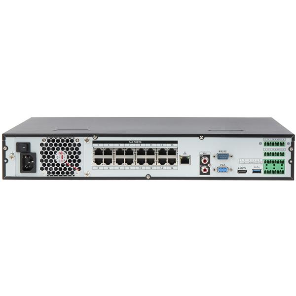 REGISTRATOR IP NVR4416-16P-4KS2 16 KANALOV +16-PORTNI SWITCH POE DAHUA